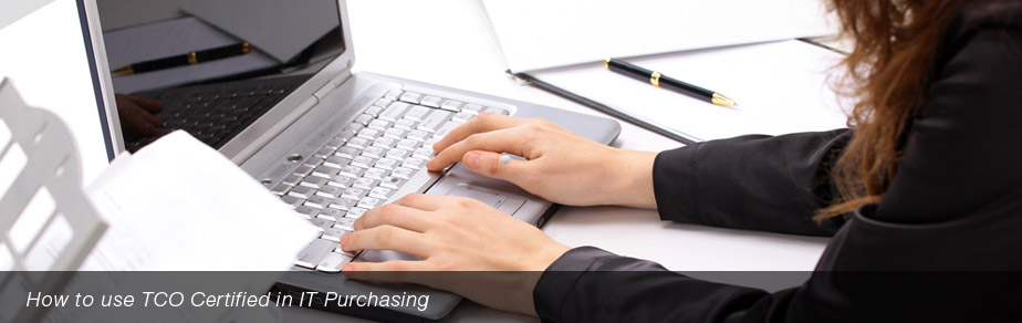How to use TCO Certified in IT Purchasing