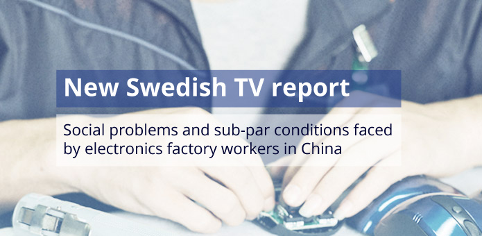 Poor factory conditions in electronics manufacturing continue