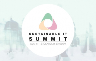 Environmental & social responsibility at Sustainable IT Summit