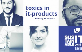 Toxics in IT-products - Webinar on Feb 18