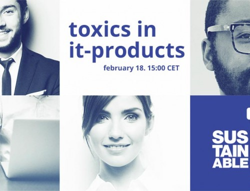 Toxics in IT-products – Webinar on Feb 18