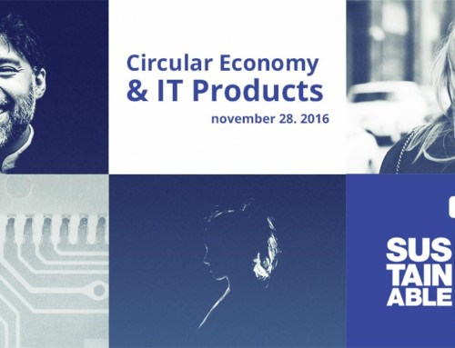 Circular Economy & IT Products