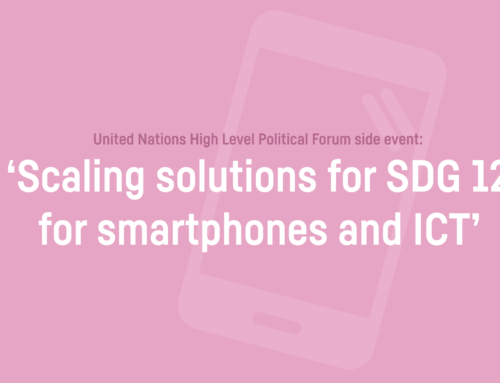TCO Development to discuss sustainable smartphones at UN High Level Political Forum