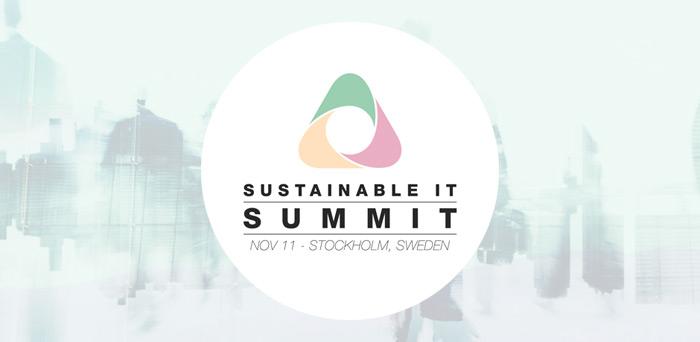 Environmental & social responsibility at Sustainable IT Summit