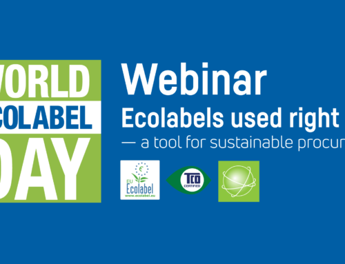 Register for webinar: Ecolabels used right — a tool for sustainable procurement