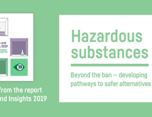 Identifying safer substitutions is the way forward in chemical safety