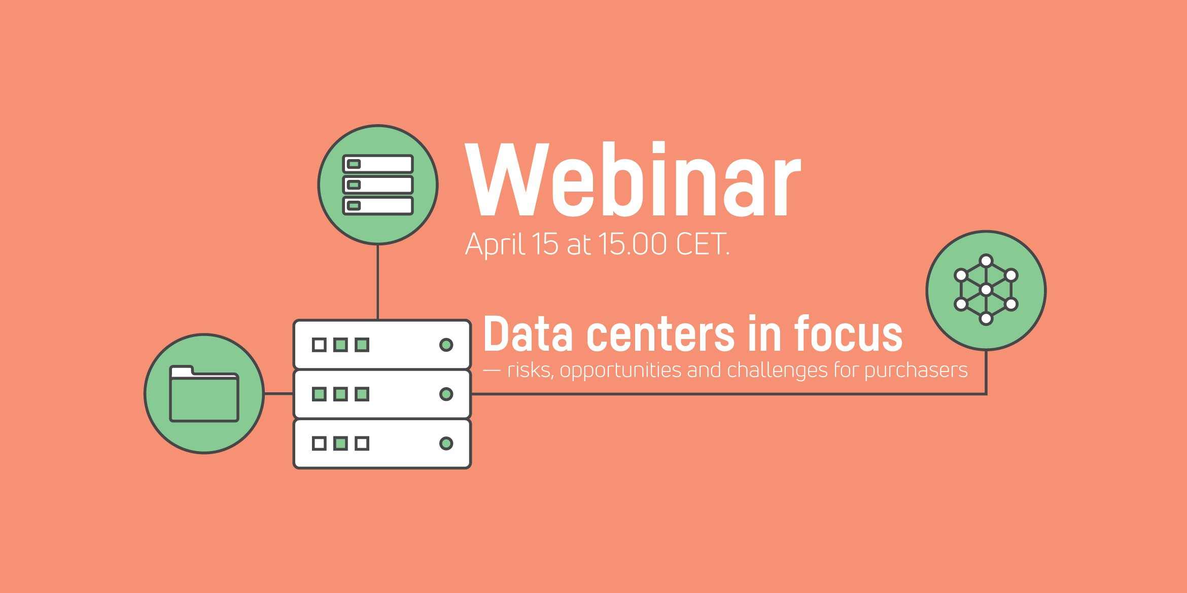 Webinar: Data centers in focus — risks, opportunities and challenges for purchasers
