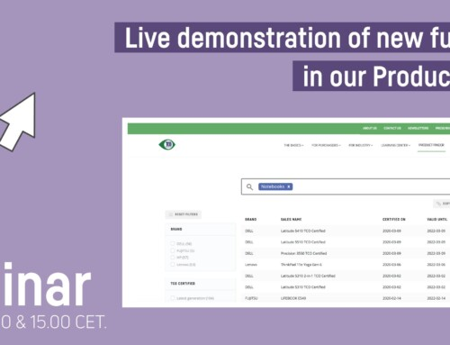 Webinar on-demand: Live demonstration of new functions in our Product Finder