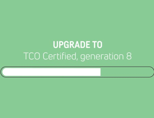Previous generation of TCO Certified will be discontinued in December