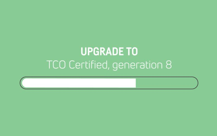 Previous generation of TCO Certified is discontinued — upgrade your certificates