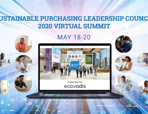 Join us at the first virtual Sustainable Purchasing Leadership Council Summit