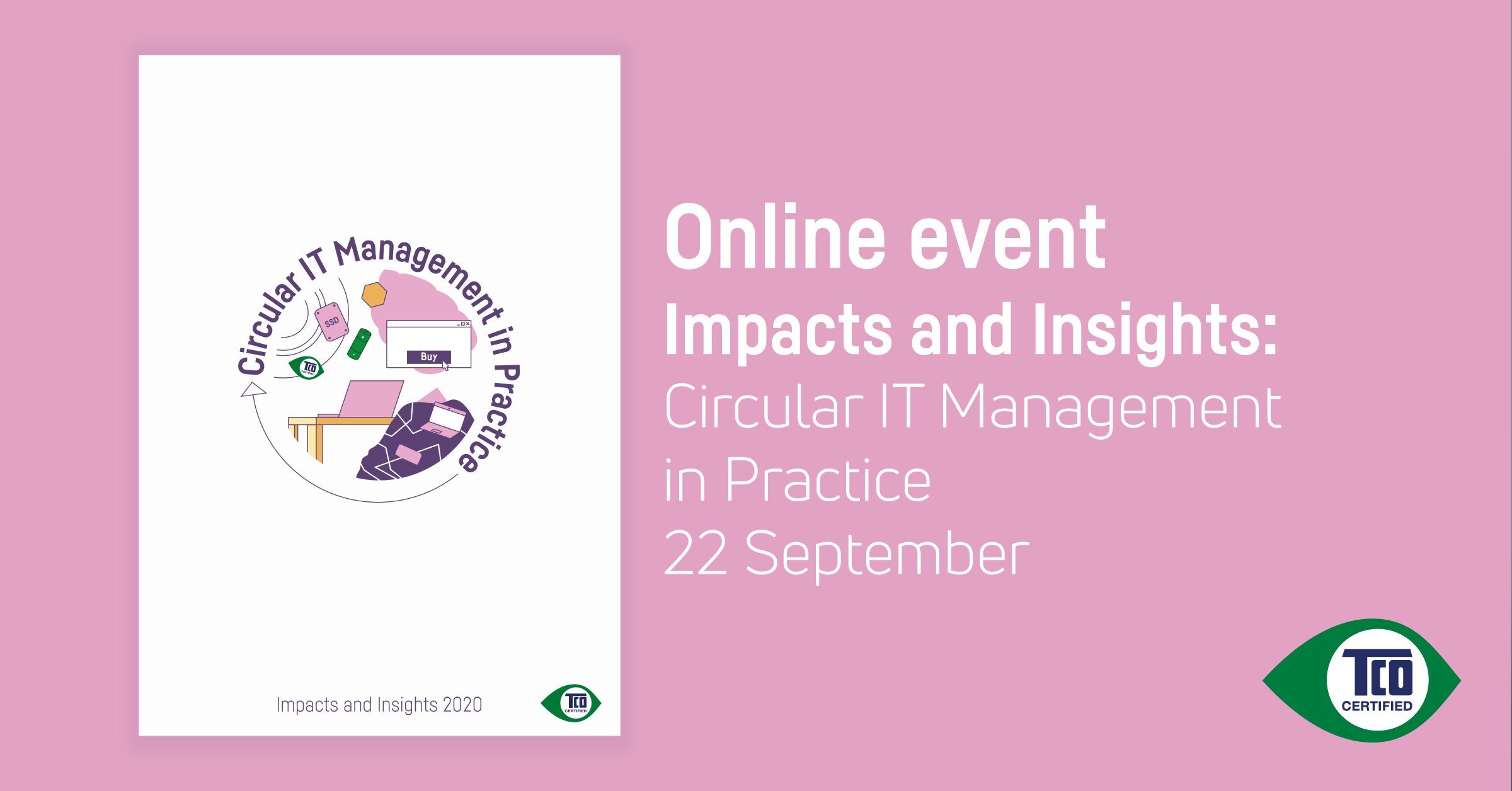 Online event: Impacts and Insights: Circular IT Management in Practice